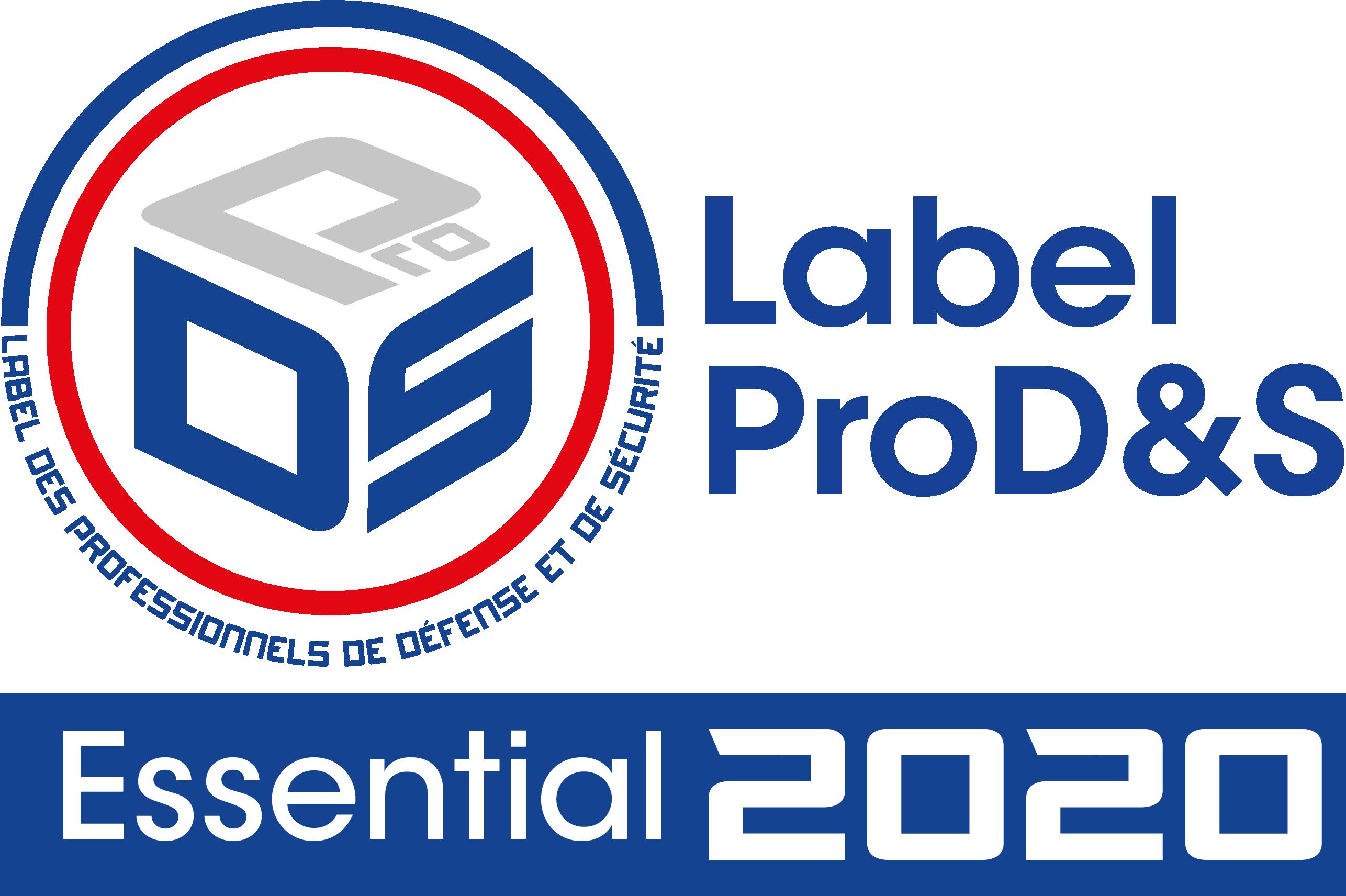 logo label essential 2020